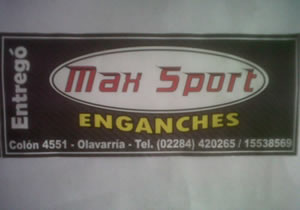 Max Sport Enganches